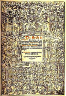 front cover of The Great Bible