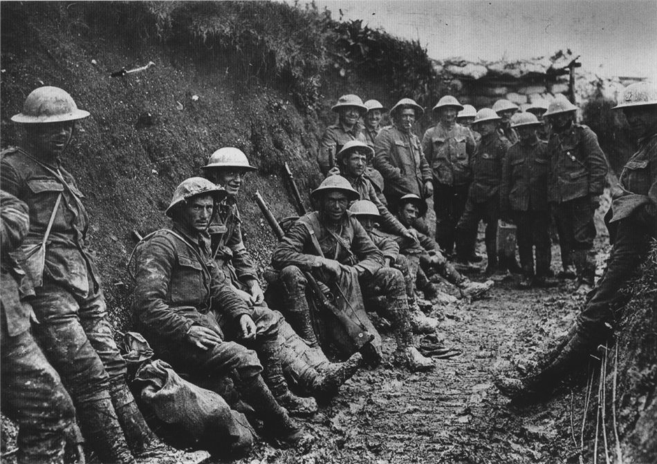 Soldiers take a moments rest