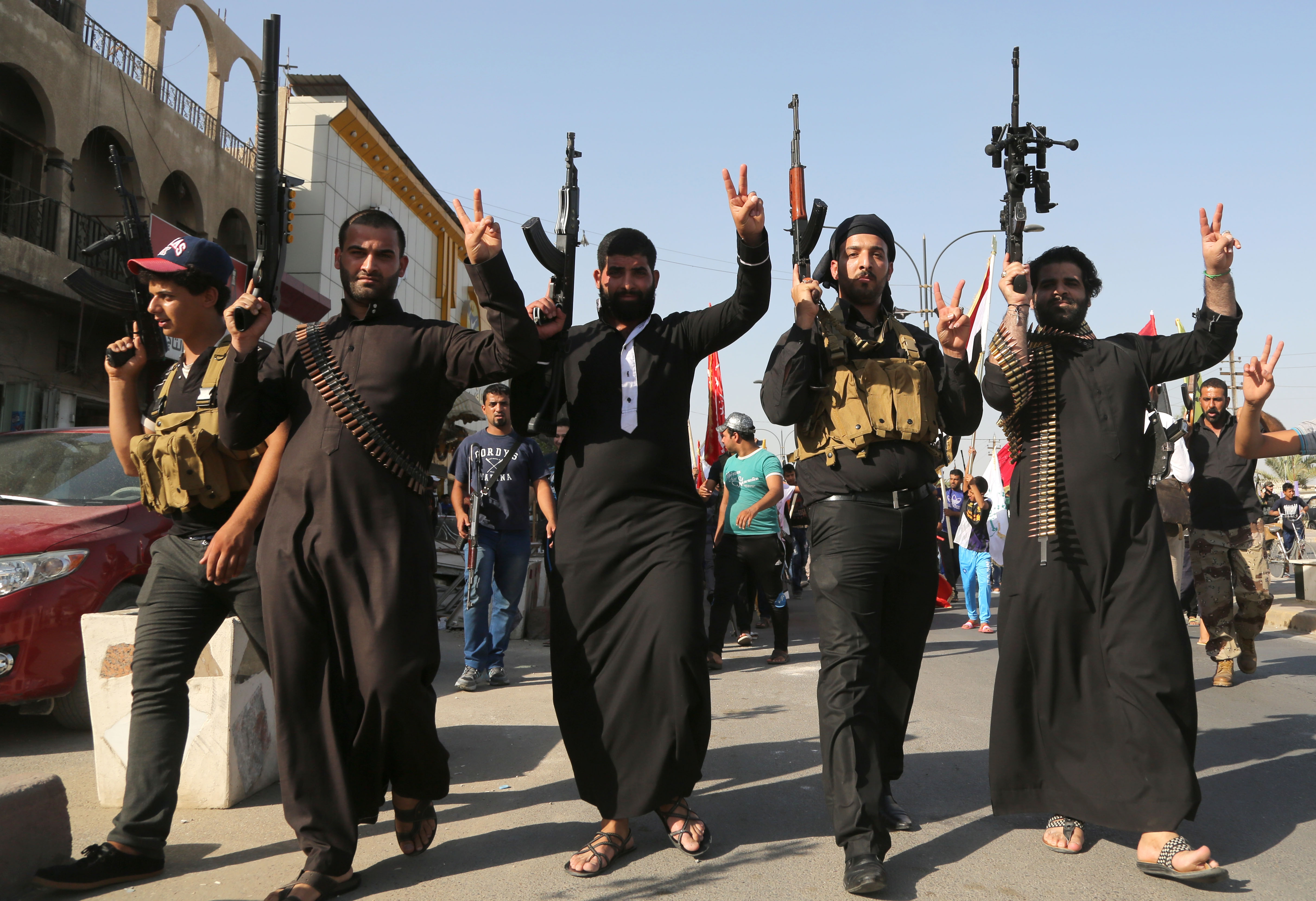 Islamic fighters oppose Islamic State in Iraq
