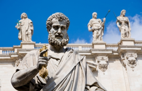 Vatican statue of St.Peter