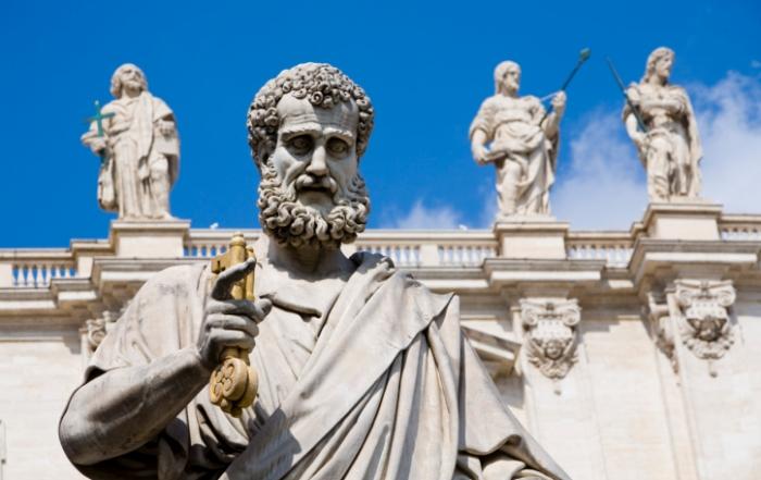 Vatican statue of St.Peter