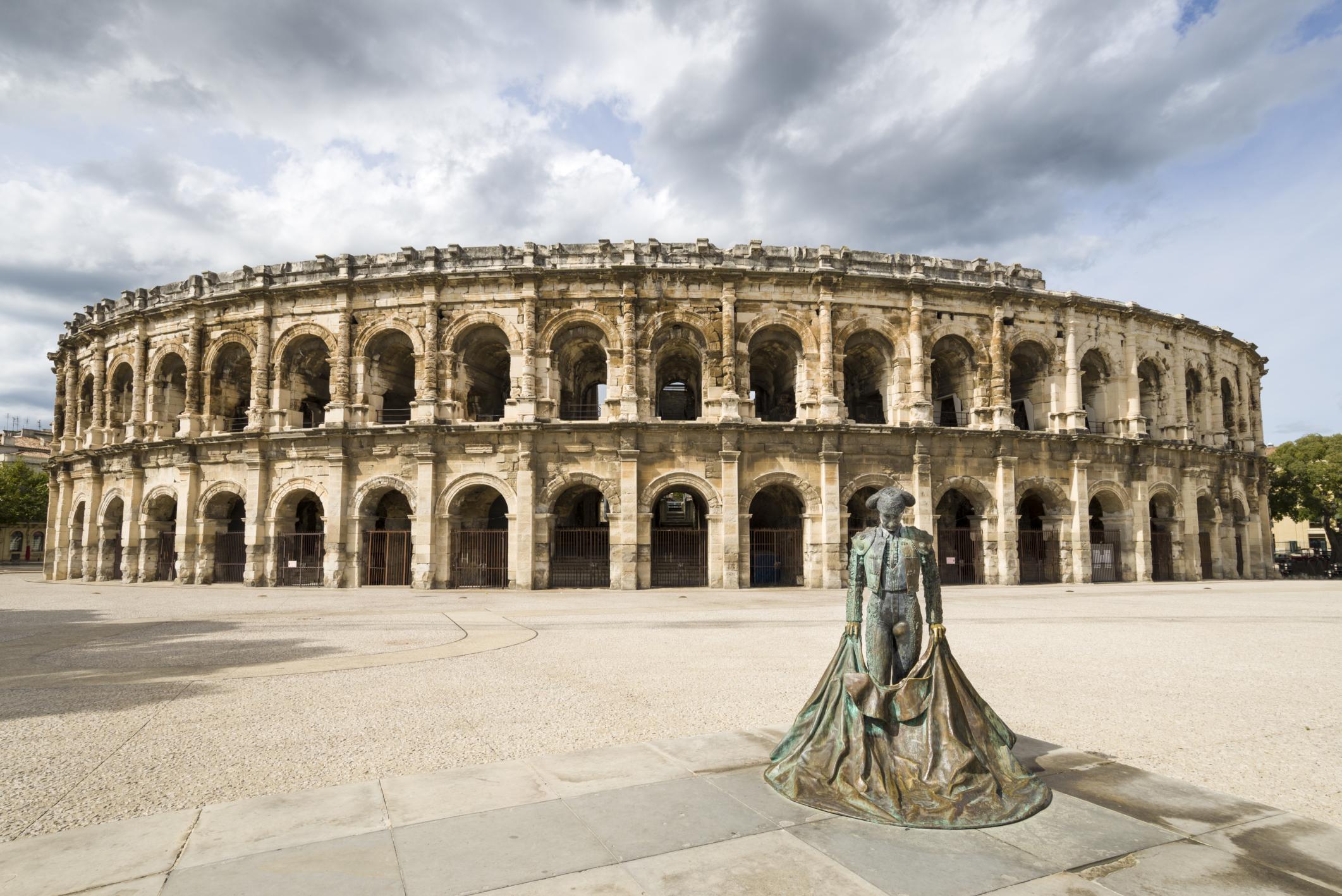Roman entertainment Arena at Nimes