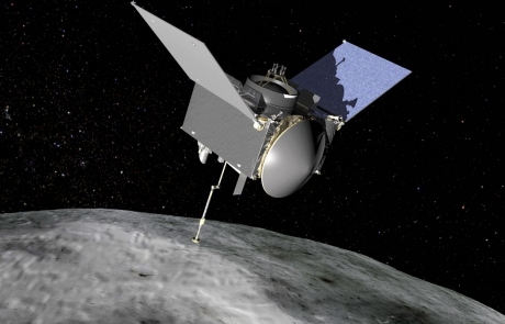 Osiris REx spacecraft