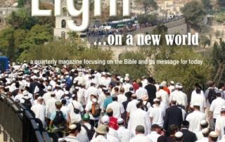 Light on a New World magazine about Bible topics.