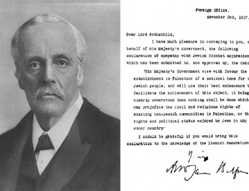 The Balfour Declaration